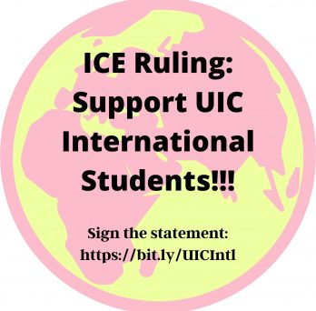 ICE Ruling: Support UIC International Students