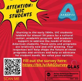 AANAPISI/ARRCC/GLAS Survey