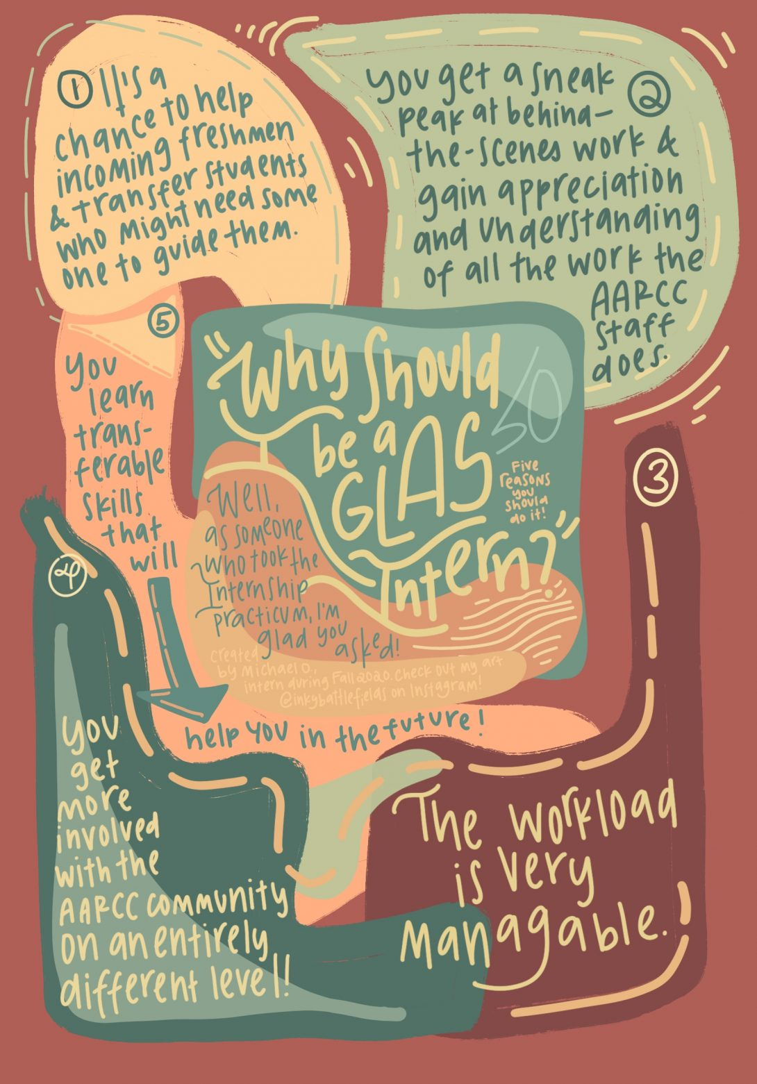 Why You Should be a GLAS Intern by Michael Oliveros