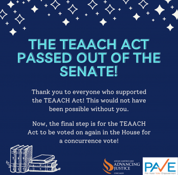 The TEAACH Act Passed Out of the Senate!